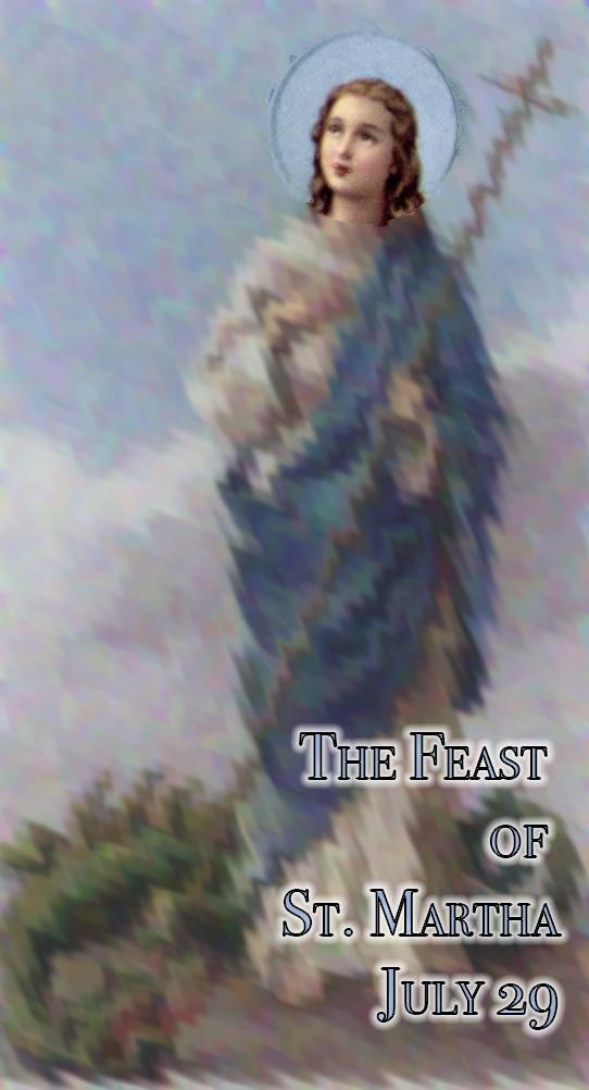St. Martha and the dragon